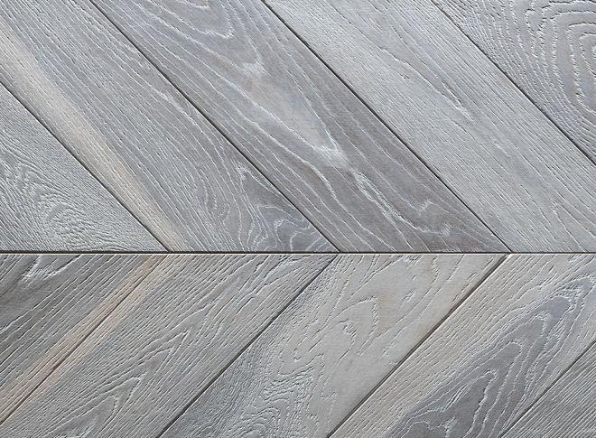 Chevron Wood Flooring Long 18mm X 125mm X 530mm 60 Degree