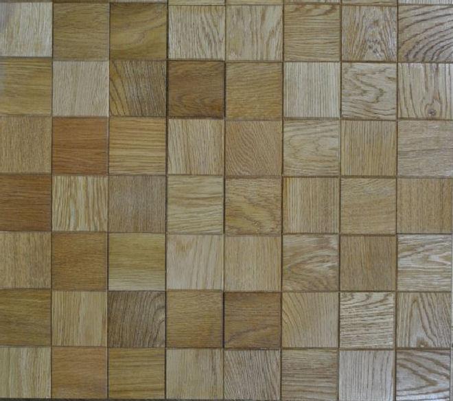 Oak Mosaic Flooring  SOLD